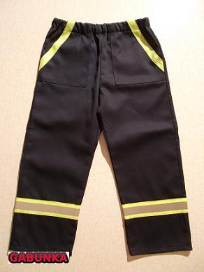 Dámské hasičské kalhoty