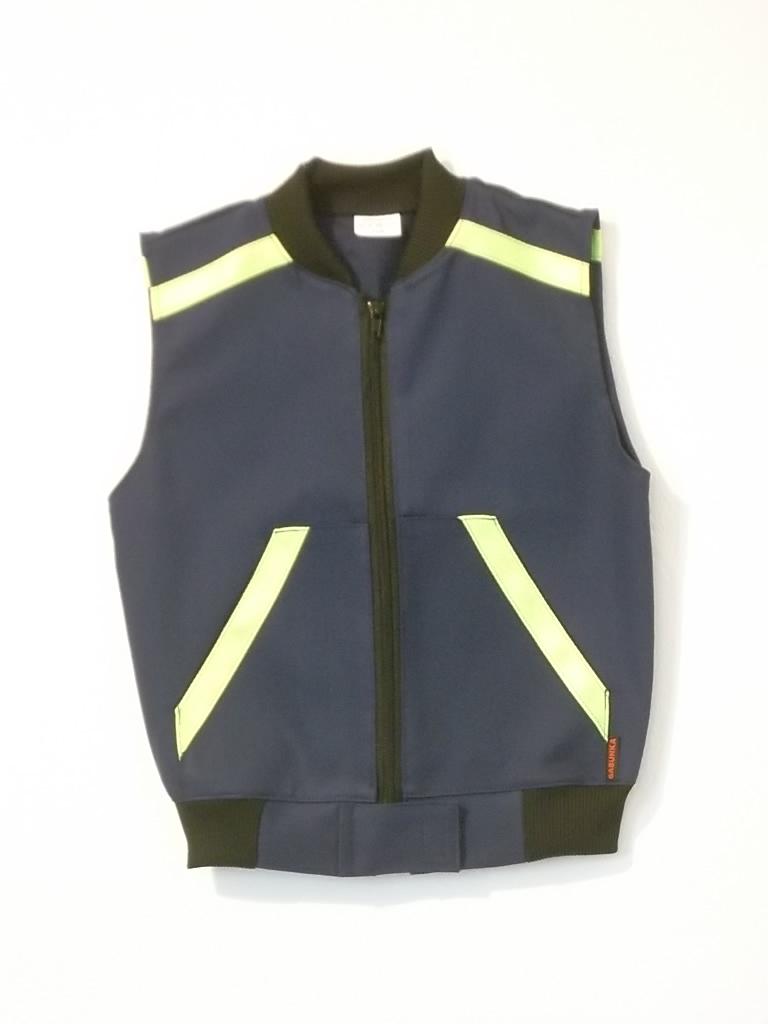 Dětská hasičská softshellová vesta