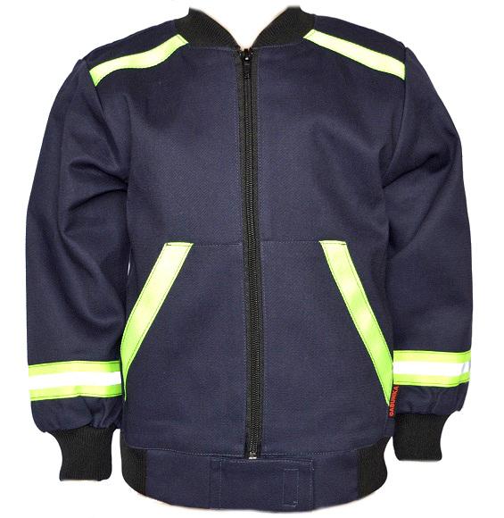 Dětská hasičská softshellová bunda